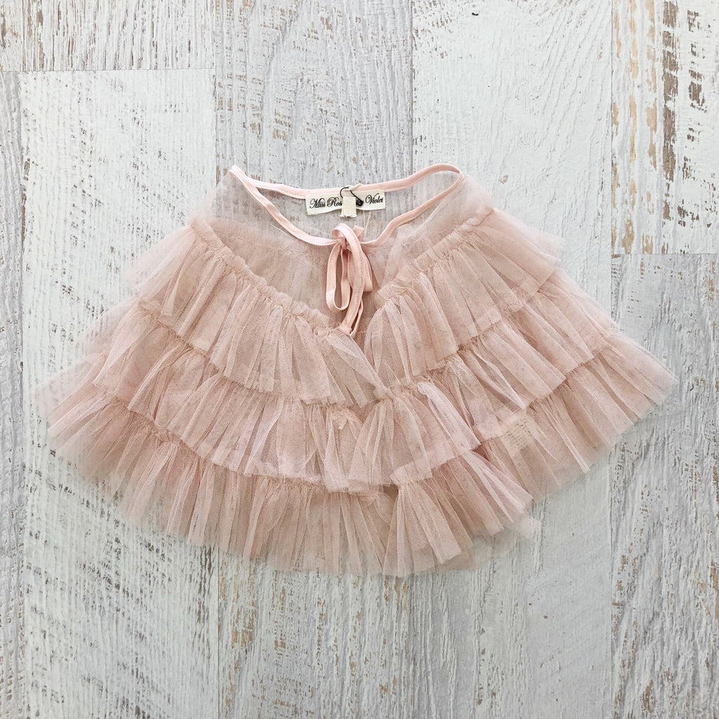 Fairy Tulle Cape - PINK