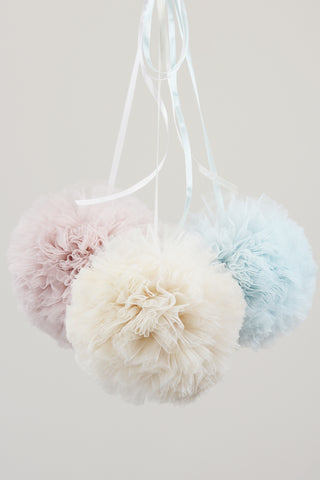 Cotton Candy Pom Poms - Small