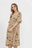 Audrey Linen Dress