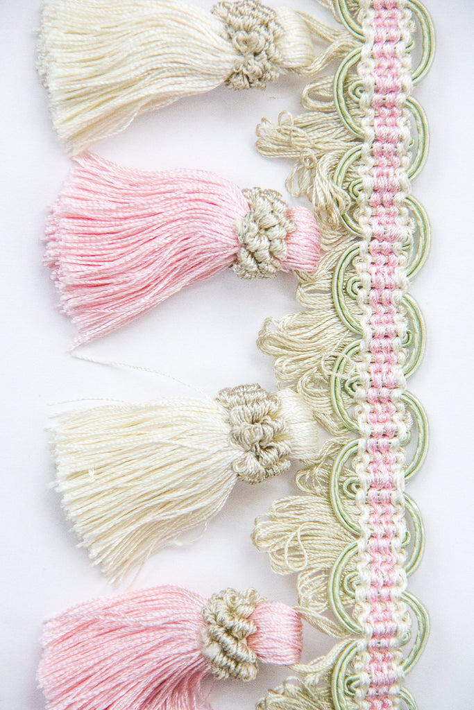 Tassel Fringing - Cotton Candy