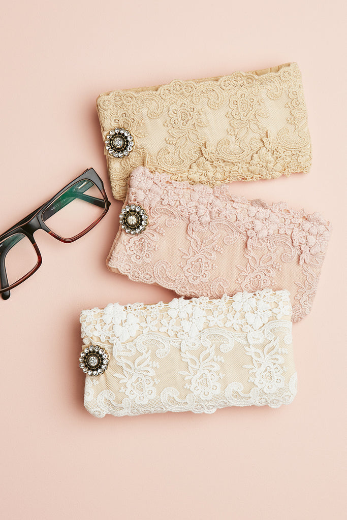 Lace Glasses Case