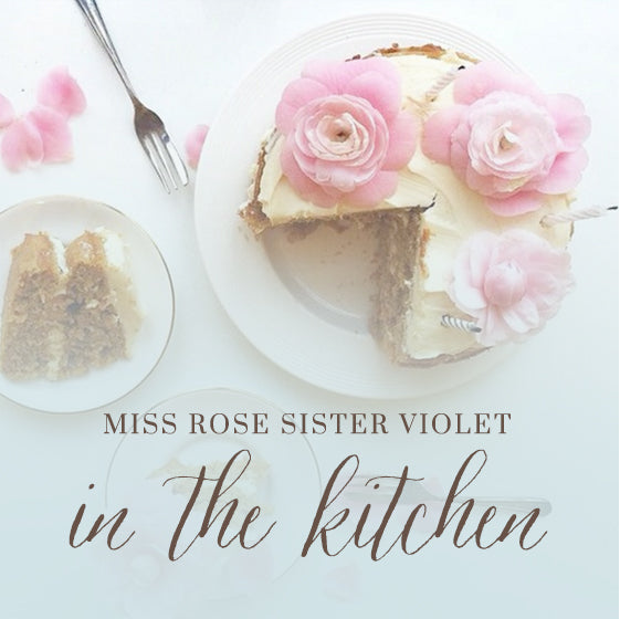 Miss Rose Sister Violet in the kitchen