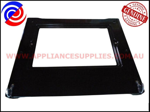 0038001859 OVEN DOOR INNER PANEL ASSEMBLY CHEF WESTINGHOUSE