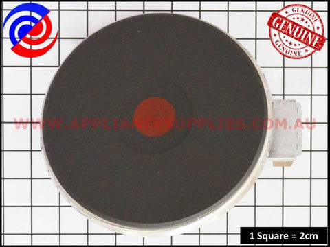 0122004247 COOKTOP 145MM 1000W SOLID ELEMENT ELECTROLUX
