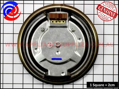 0122004420 COOKTOP ELEMENT EGO L/PROF 1500W WESTINGHOUSE SIMPSON CHEF