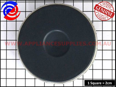 0122004451 COOKTOP 145mm SOLID WIRE HOTPLATE CHEF