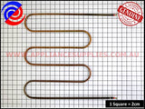0122004498 OVEN GRILL ELEMENT CHEF SIMPSON