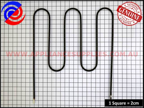 0122004499 OVEN GRILL ELEMENT CHEF SIMPSON WESTINGHOUSE ELECTROLUX