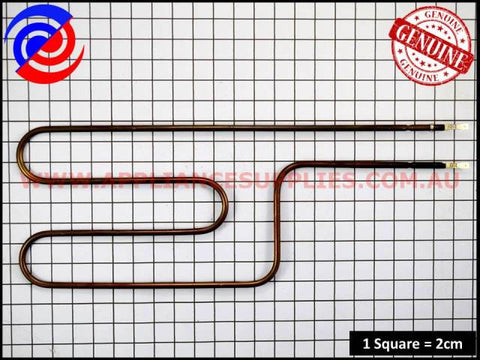 0122004503 OVEN ELEMENT SPLIT GRILL SIMPSON WESTINGHOUSE ELECTROLUX