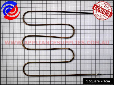 0122004505 OVEN GRILL ELEMENT CHEF SIMPSON ELECTROLUX WESTINGHOUSE