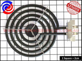 0122004589 COOK TOP RADIANT ELEMENT SMALL CHEF SIMPSON WESTINGHOUSE