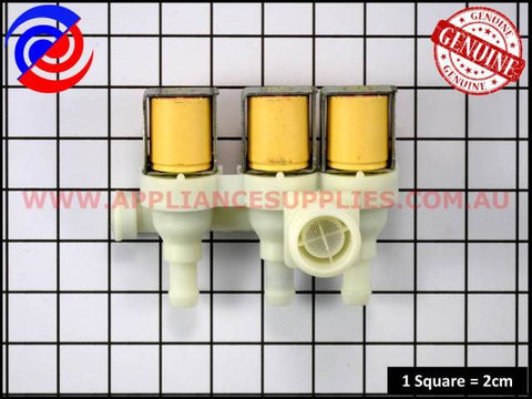 0136200091 WASHING MACHINE VALVE INLET TRIPLE WESTINGHOUSE ELECTROLUX