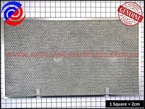 0144002129 RANGEHOOD FILTER SUITS WESTINGHOUSE SIMPSON AND SOME CHEF MODELS