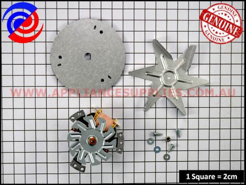0214777077 OVEN FAN MOTOR KIT WESTINGHOUSE SIMPSON CHEF