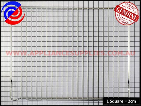 0327001145 OVEN WIRE SHELF 460mm WIDE CHEF SIMPSON ELECTROLUX WESTINGHOUSE