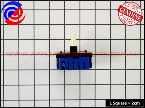 0534001654 COOKTOP HOTPLATE INFINITE SWITCH MP101 WESTINGHOUSE CHEF SIMPSON ELECTROLUX