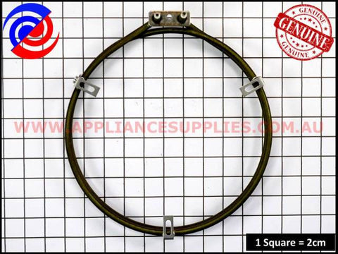 0609100379 OVEN FAN FORCED ELEMENT WESTINGHOUSE CHEF SIMPSON ELECTROLUX