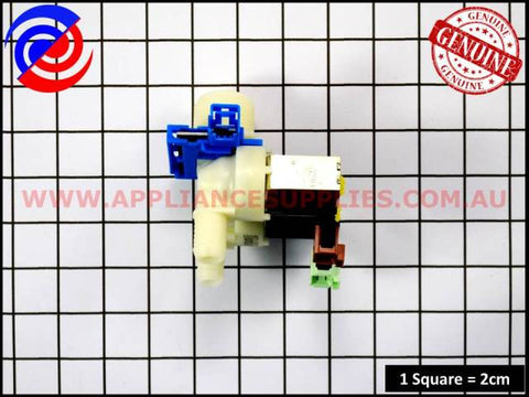 132441612 WASHING MACHINE 2-WAY SOLENOID VALVE WITH FL ELECTROLUX