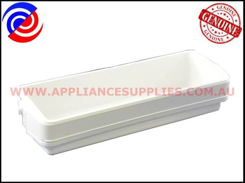 1422495 REFRIGERATOR LARGE BIN DOOR SHELF WHITE WESTINGHOUSE