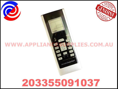 203355091037 GENUINE AIR CONDITIONER REMOTE CONTROL KELVINATOR