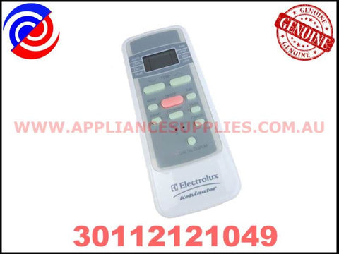 30112121049 GENUINE AIR CONDITIONER REMOTE CONTROL  KELVINATOR ELECTROLUX