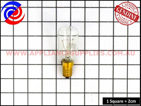 3192560070 REFRIGERATOR GLOBE 40W SES T29 WESTINGHOUSE SIMPSON ELECTROLUX FISHER & PAYKEL