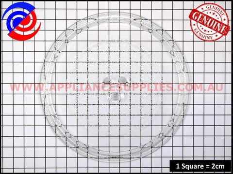 3390W1G010A MICROWAVE GLASS PLATE LG