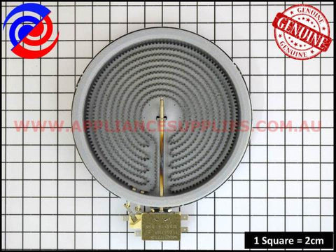 374063622 COOKTOP ELEMENT RIBBON SINGLE 1800W WESTINGHOUSE SIMPSON CHEF