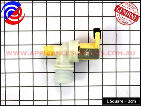 420148P WASHING MACHINE COLD WATER VALVE 24V 10L FISHER & PAYKEL