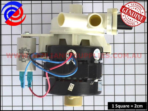 672050250049 DISHWASHER MOTOR SUITS SMEG OMEGA DELONGHI MIDEA