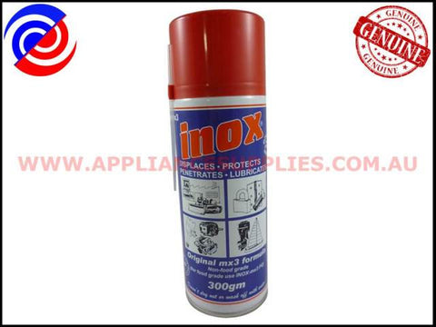 ACC186 INOX PENETRATING OIL SPRAY 300GM ELECTROLUX UNIVERSAL