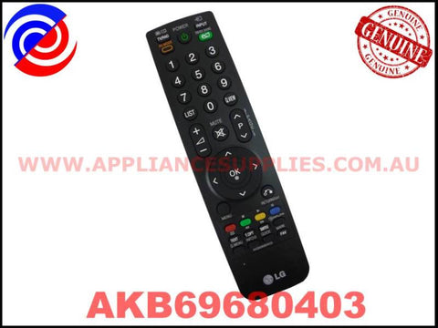 AKB69680403 AKB69680404 AKB69680408 GENUINE TV REMOTE CONTROL LG