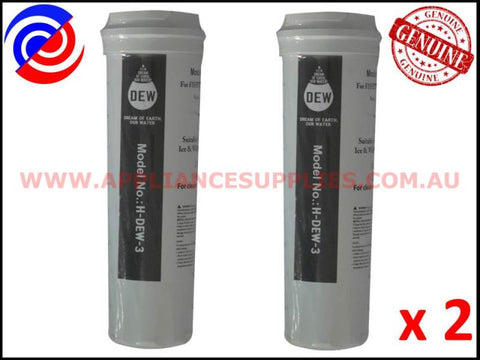 2 x 836848 836860 REFRIGERATOR QUALITY REPLACEMENT WATER FILTER FISHER & PAYKEL