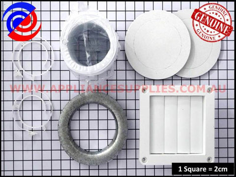 DVK005 DRYER VENTING KIT THRU WALL SIMPSON WESTINGHOUSE ELECTROLUX