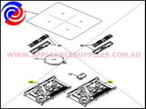 3300362609 COOKER MODULE INDUCTION TIGER REV1 ST ELECTROLUX