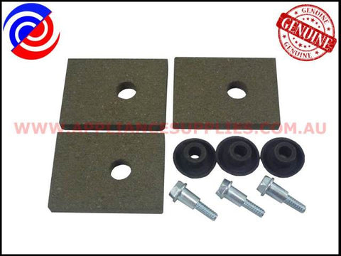 KS548P3 WASHING MACHINE BRAKE PAD KIT KLEENMAID