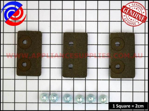 KS735P3 SPEEDQUEEN WASHING MACHINE BRAKE PAD KIT KLEENMAID