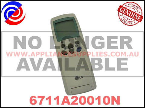 6711A20010N 6711A20010D AKB74375404 GENUINE AIR CONDITIONER REMOTE CONTROL LG