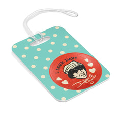 Davy Jones fan club bag tag