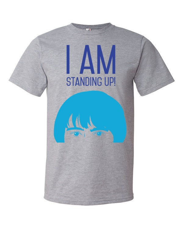 Unisex I AM STANDING UP! short-sleeve t-shirt