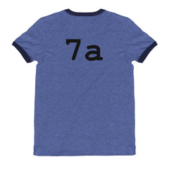 """What number is this, Chip?"" unisex ringer tee"