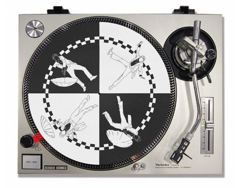 "Daddy's Song 12"" custom turntable slipmat"
