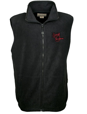Black fleece Davy Jones signature vest - free shipping!