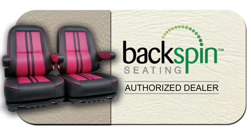 Backspin Seating Golf Cart Seat Dealership