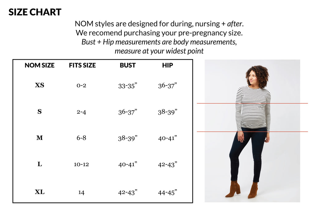 fit + size guide