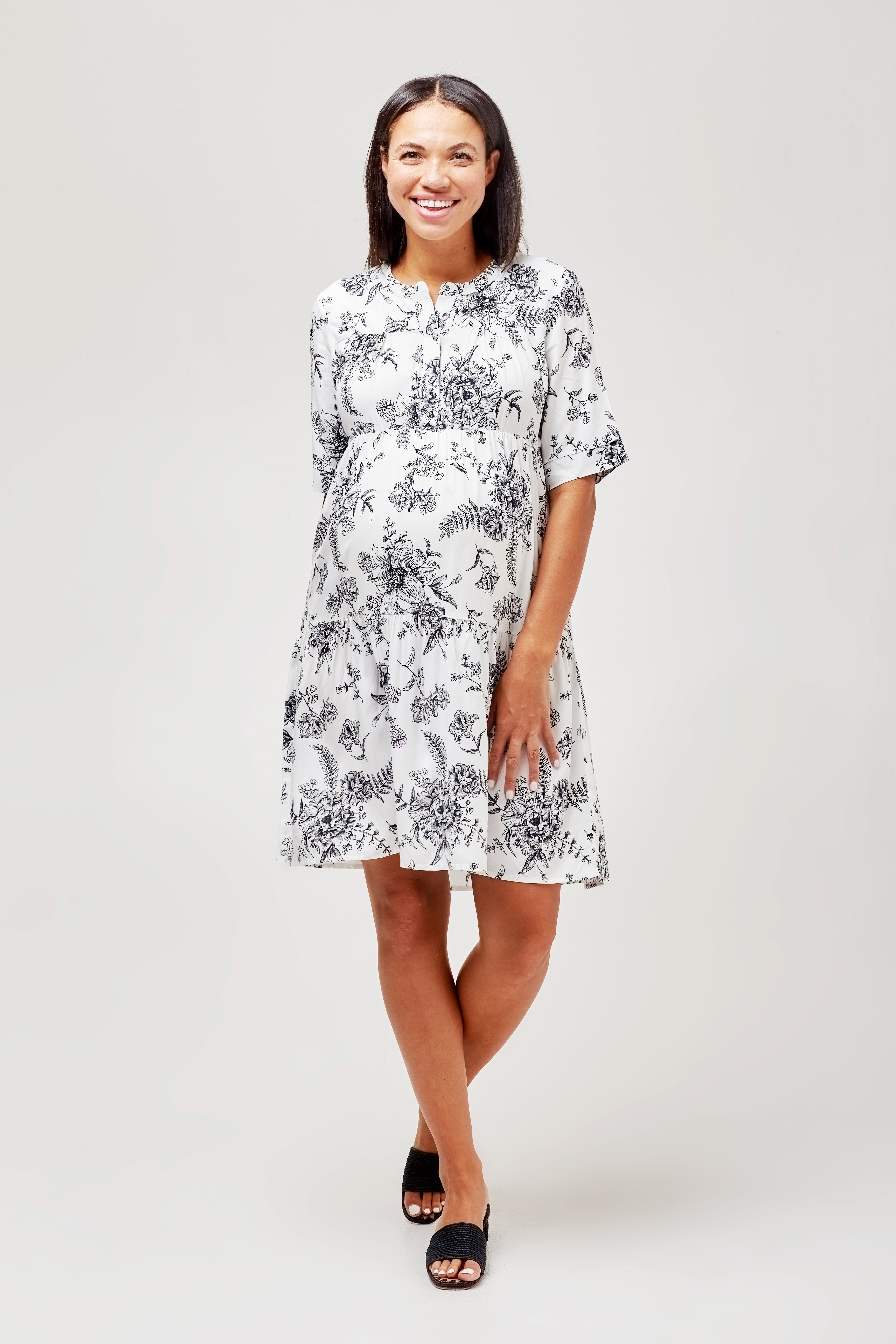 Valeria maternity + nursing dress