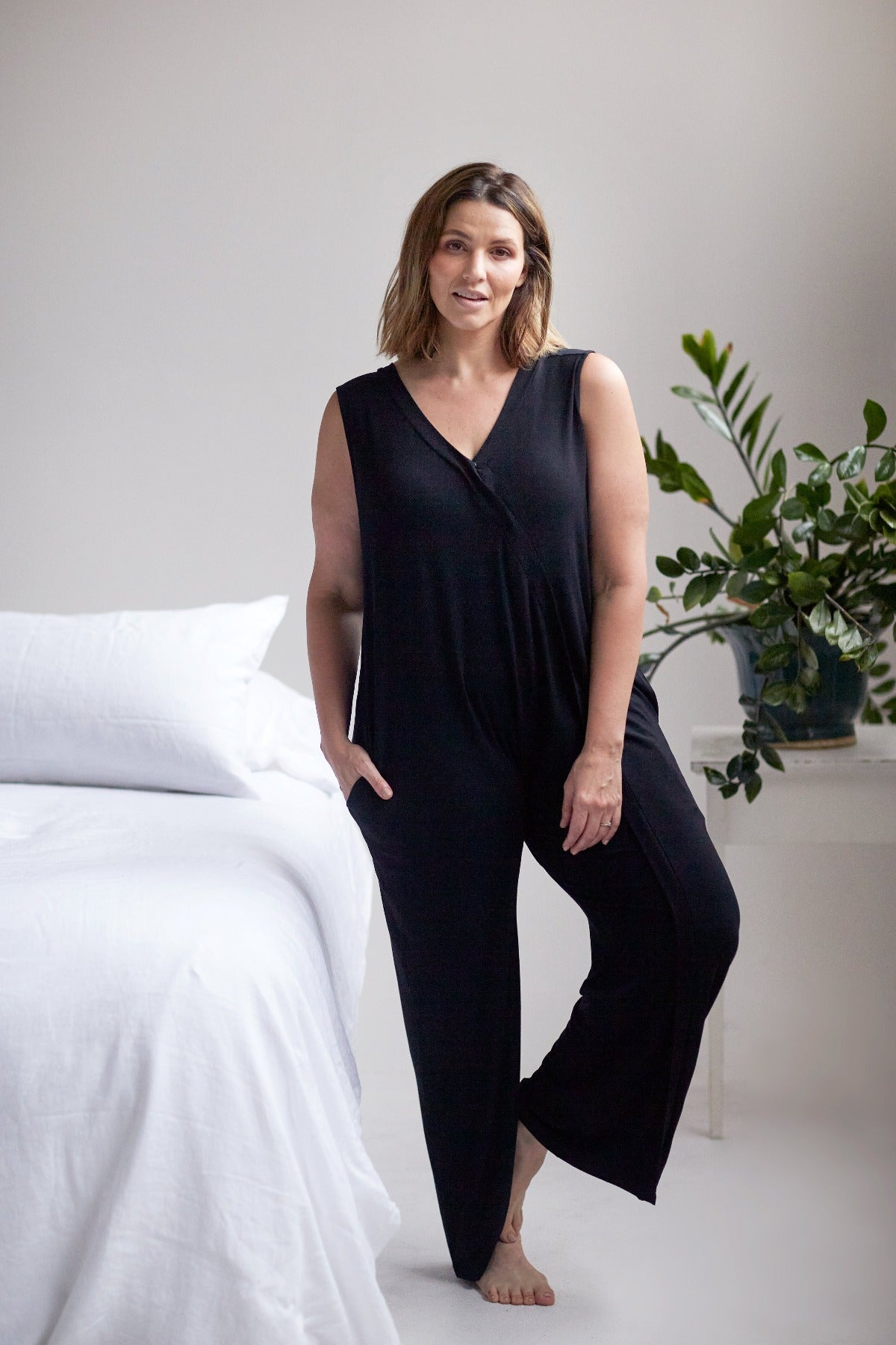 Everyday nursing jumpsuit