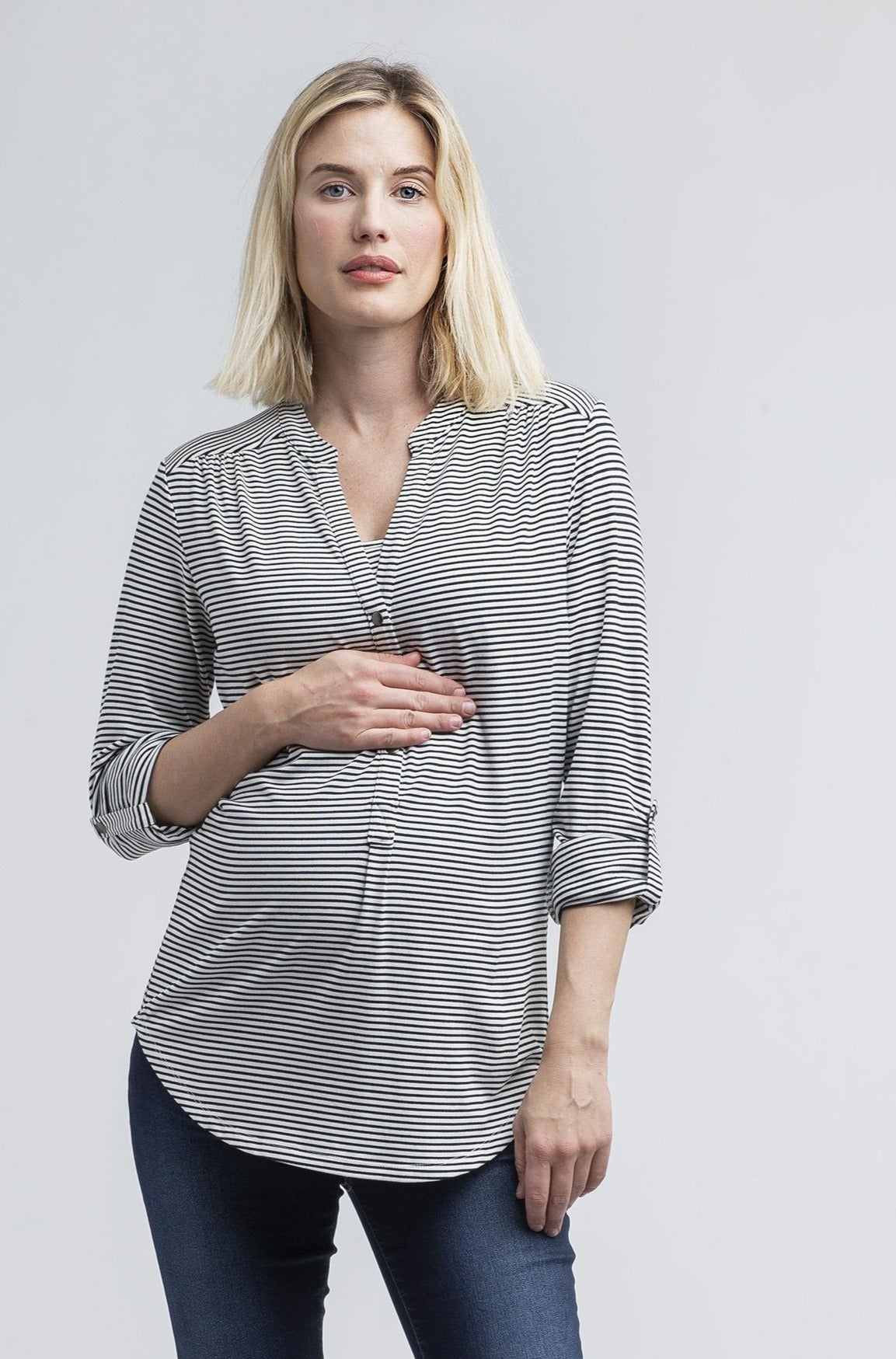 Amelie Maternity + Nursing Top