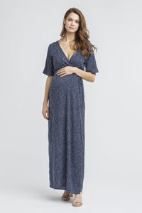 Landon Maternity + Nursing Maxi Dress <br/> Dot