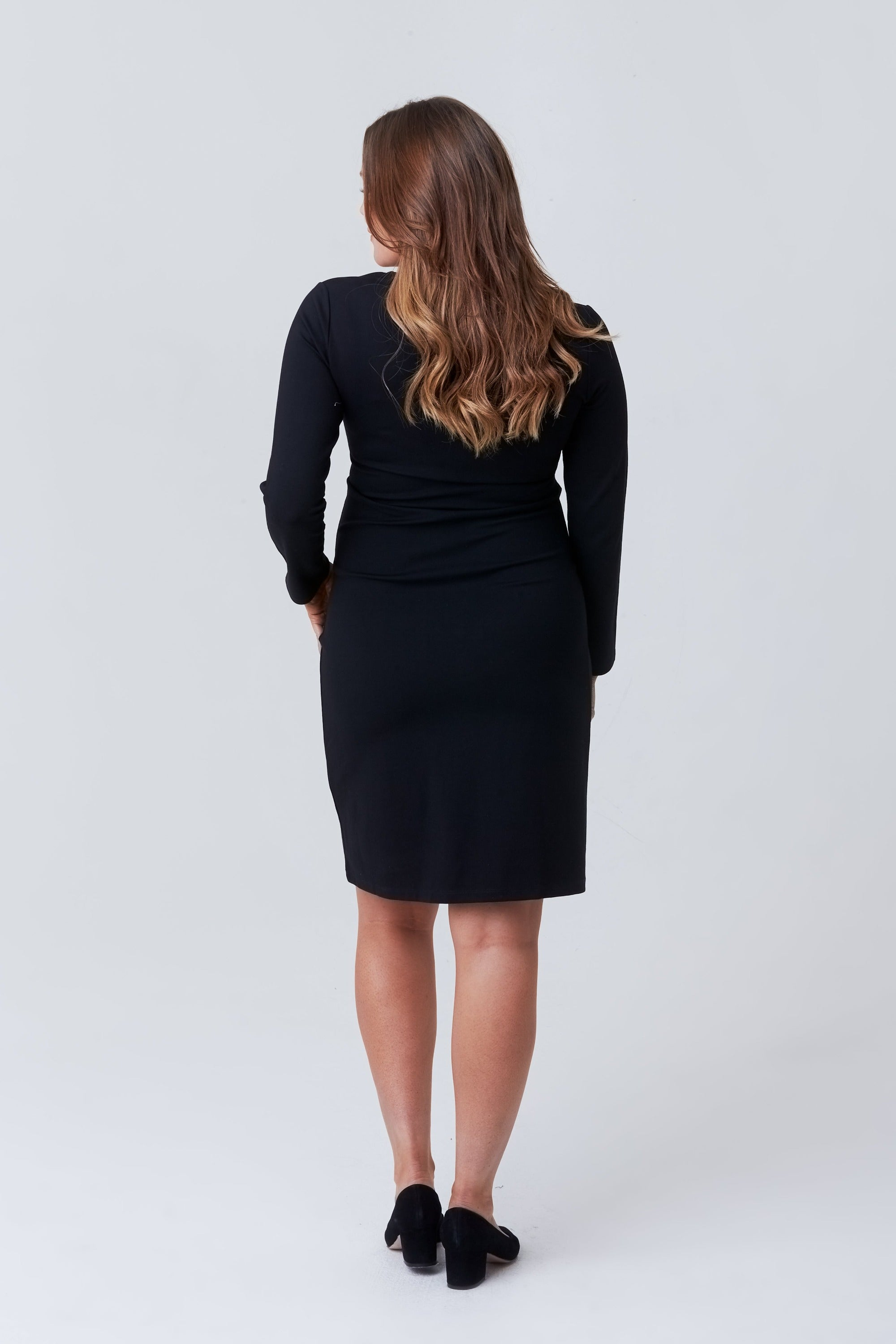 Valentina Maternity + Nursing Ponte Dress